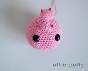Free Jigglypuff Amigurumi Crochet Pattern Step 9