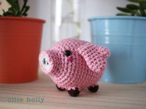 Free Pig Amigurumi Crochet Pattern