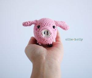 Free Pig Amigurumi Crochet Pattern Complete