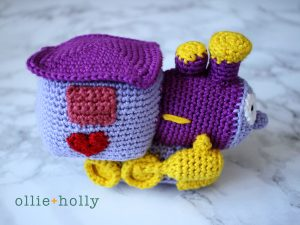 The Simpsons I Choo Choo Choose You Amigurumi Crochet Pattern Side View