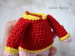 Chinese New Year Pig Amigurumi Pattern Notes 2