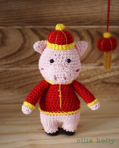 Chinese New Year Pig Amigurumi Pattern Notes