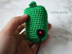 Free Toronto Green Bin Amigurumi Crochet Pattern Step 9