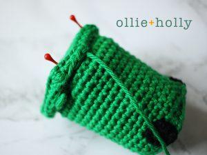 Free Toronto Green Bin Amigurumi Crochet Pattern Step 10