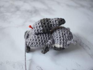 Free Toronto Raccoon Amigurumi Crochet Pattern Step 19