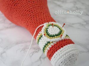 Free Ketchup Bottle Pillow Amigurumi Crochet Pattern Step 19