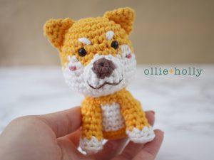 Free Shiba Inu Amigurumi Crochet Pattern
