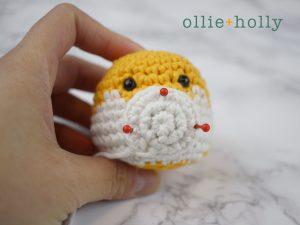 Free Shiba Inu Amigurumi Crochet Pattern Step 8