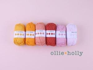 Ollie Holly Paintbox Yarn Cotton Aran