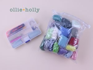 Ollie Holly Wool Roving and Felting Tools