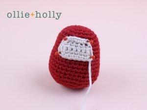 Free Daruma Amigurumi Crochet Pattern Step 3