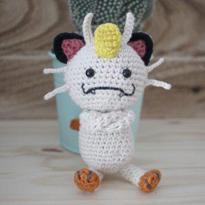 Meowth Pokemon Amigurumi Crochet Pattern