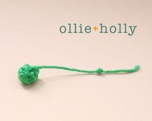 Free String of Pearls Amigurumi Crochet Pattern Step 1