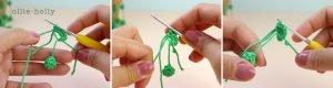 Free String of Pearls Amigurumi Crochet Pattern Step 2