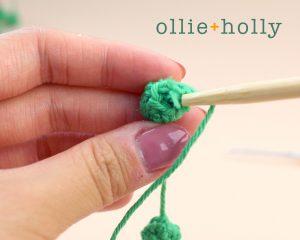 Free String of Pearls Amigurumi Crochet Pattern Step 3