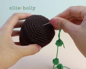 Free String of Pearls Amigurumi Crochet Pattern Step 5