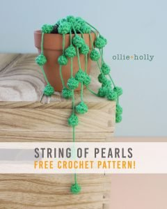 Free String of Pearls Amigurumi Crochet Pattern