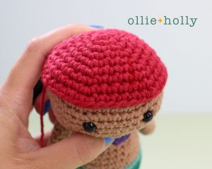 Free Disney Ariel Little Mermaid Amigurumi Crochet Pattern Step 11
