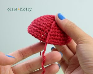 Free Disney Ariel Little Mermaid Amigurumi Crochet Pattern Step 16