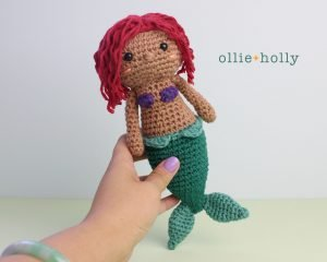 Free Disney Ariel Little Mermaid Amigurumi Crochet Pattern Complete