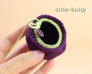 Free Halloween Witch's Cauldron Ornament Amigurumi Crochet Pattern Step 3